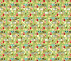 Breakfast fabric by heidikenney on Spoonflower - custom fabric
