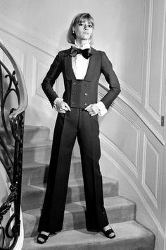 YSL Couture — a new take on Le Smoking tuxedo