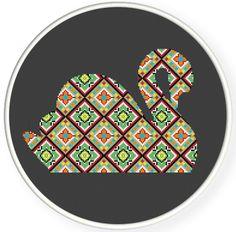 Instant download,free shipping,Cross stitch pattern, Cross-StitchPDF,grace swan,cloth pattern,zxxc0325