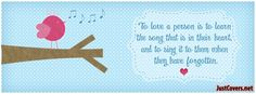 Valentine Quote Facebook Cover Photo Profile Banner