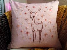 stitchy reindeer by Eclair B