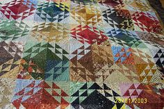 corn and beans quilts | Lisa Filming Simply Quilts 039