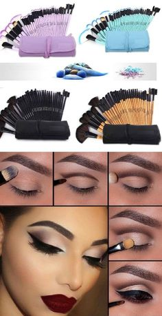 Do you want a single set of make-up brushes that you can trust to always give you that perfect look? The 20 piece brush set is great for home or professional use. The exquisite brushes are luxuriously