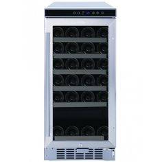 wine refrigerator - Compare Price Before You Buy Wine Refrigerator, Wine Fridge, Wine Cabinets, Kitchen Cabinetry, Laundry Appliances, Home Appliances, Fine Wine, Locker Storage, Stuff To Buy