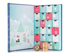David's Tea Advent Calendar Available Now! - hello subscription Ready for the most anticipated gift of the year? This magical tea-filled advent calendar delivers a delicious new surprise every day. Behind each door hides a single ser Advent Calendar Sale, Advent Calenders, Chocolate Advent Calendar, Davids Tea, 12 Days Of Christmas, Christmas Tables, Nordic Christmas, Modern Christmas, Nouvel An