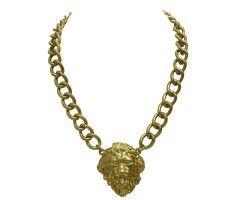 Lion Face Necklace