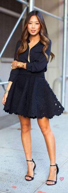 Cute Date Night Outfit//
