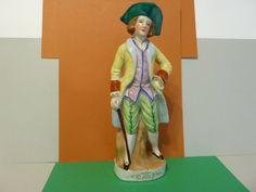 Colonial Era Male Figurine, Made in Japan by BjsDoDads on Etsy