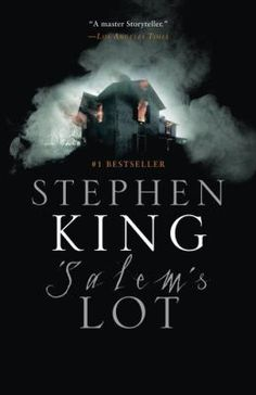 'Salem's Lot was written in 1975 novel written by the  author Stephen King. It was his second novel. The story involves a writer who returns to the town where he lived as a boy in Maine to find out that the people that lived there are becoming vampires.