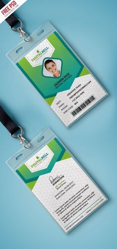 50 best id card template images on pinterest in 2018 card