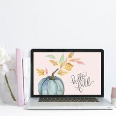 "September's ""Hello Fall"" Free Desktop Wallpaper Download"