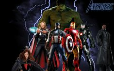 Great image... <3 the Avengers and can't wait for the release  #Avengers