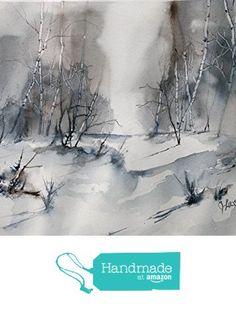 ORIGINAL painting Watercolor painting WATERCOLOR Painting, watercolor landscape…