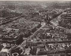Historische Luftaufnahmen Berlin- Wittenbergplatz- Tauentzienstrasse unz  1931