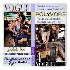 """Jess Lee in Vogue with Kendall & Gigi"" by esch103 ❤ liked on Polyvore featuring Diane Von Furstenberg"