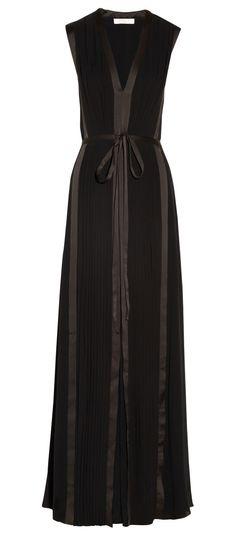 288355ac83 CHLOÉ Pleated silk gown Designer Clothes Sale