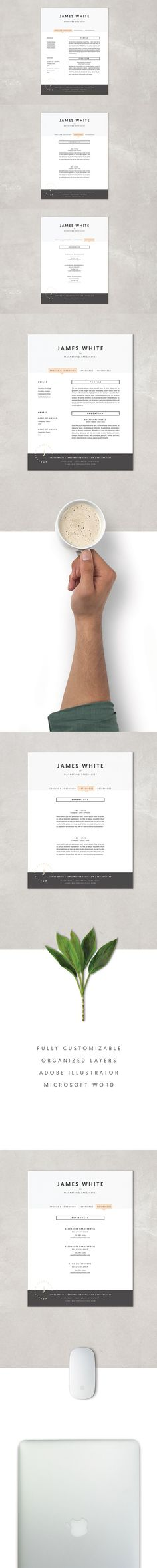 Interactive Cv Templates%0A Resume Template  James