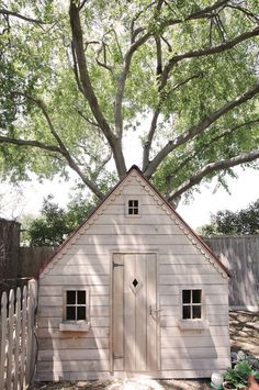 ♕ cute chicken house ~ the design would be great for a playhouse or garden shed as well