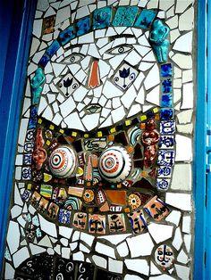beautiful ceramic mosaic, by Stephen Bird