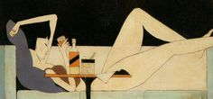 Pang Xunqin | Chinese | 1906-1985 - The Girl on the Couch | 1930