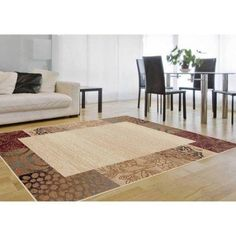 Bliss Rugs Abilene Contemporary Area Rug, Multicolor