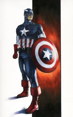 Captain America by Cat Staggs