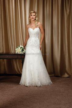 Mia Solano M1224Z - Wedding Dress M1224Z. View more online at www.PrincessBridalGowns.com.
