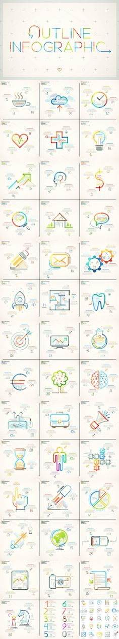 Videohive 19965556 Infographic 10 Graphicsdesign for WEB Pinterest