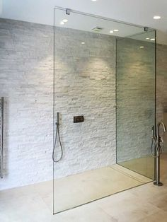 Ergonomic glass shower screens from our company embody the best features of the modern shower units. White Bathroom Tiles, House, Shower Enclosure, Georgian Homes, Glass Shower, Picture Gallery, Small Bathroom, Modern Shower, Shower Screen