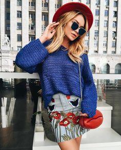 NEW 😜😜 Джинсовая юбка ,свитер ,сумка из нат кожи 😈💕 и шляпа 😀 +79670082786 Малый конюшковский переулок д2