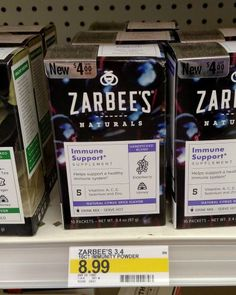 Staying Healthy With Zarbee's at Target