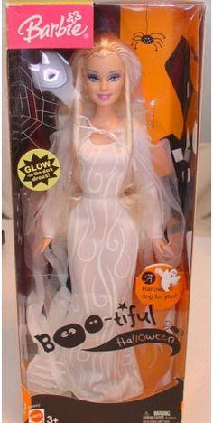 Boo-tiful Halloween Barbie 2004 Rare
