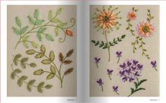 """""""Mon Cahier de Broderie. À la decouverte de la broderie Ruban"""" Libro de Yukiko Ogura (en francés)sobre bordado con cintas. En www.lacasinaroja.com"""
