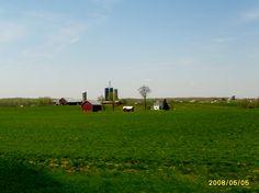 A farm in rural Ohio.