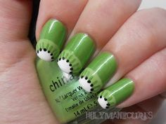 Kiwi Manicure by Holy Manicures