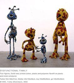 dysfunctional family - yinka shonibare