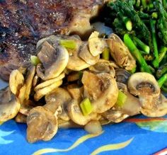 "Sauteed Mushrooms: ""This is outstanding! The wine, butter and Worcestershire sauce make it incredible. I also like the flavor the green onions add to the dish."" -PixieDust"