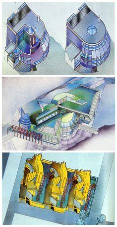 Peter Cook. Architecture D'Aujourd'Hui 209 June 1980: 72