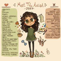 Meet The Artist by Chibi-Joey on DeviantArt Make Mine Music, Disney Challenge, Cute Cafe, Girl Empowerment, Meet The Artist, Maya Angelou, Cute Disney, Artist Art, Doodle Art