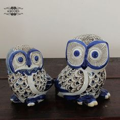 Online Shop New style vintage chinese blue and white ceramic hand painting home accessories decoration owl animal decoration piggy bank|Aliexpress Mobile