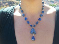 Natural Blue Raw Lapis Lazuli Gemstones on by MountainUrsusDesigns, $122.00