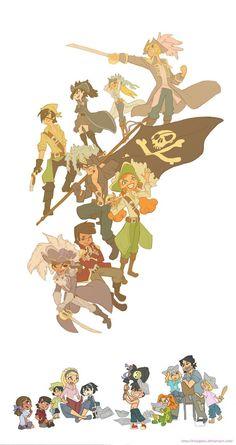 A Pirate Story by Kikaigaku on DeviantArt