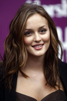 Leighton Meester better every day hair