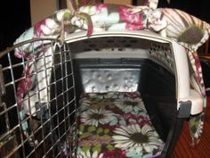 Small crate covers with matching crate padChoose by VickieSizemore, $40.00