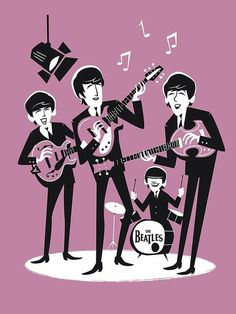 Beatles One, Beatles Photos, Beatles Guitar, Fred Mercury, Beatles Birthday, Rock Band Posters, Band Wallpapers, Estilo Rock, The Fab Four
