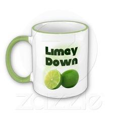 Limey Down Coffee Mug