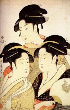 http://www.wikipaintings.org/en/kitagawa-utamaro/three-beauties-of-the-present-day-1793