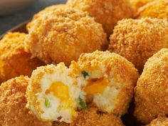 Get crunchy, popable cheesy potato bites in this great recipe. VELVEETA® Cheesy Potato Bites are great for game day and have an ooey gooey, cheesy center! Appetizer Recipes, Snack Recipes, Cooking Recipes, Snacks, What's Cooking, Dinner Recipes, Cooking Games, Healthy Recipes, Keto Recipes
