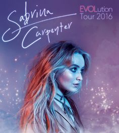 THIS IS NOT A DRILL Sabrina Carpenter is going on her very first tour! Tickets go on sale 9/9/16, you can check and see if Sab will be in your city here: http://sabrinacarpenter.com