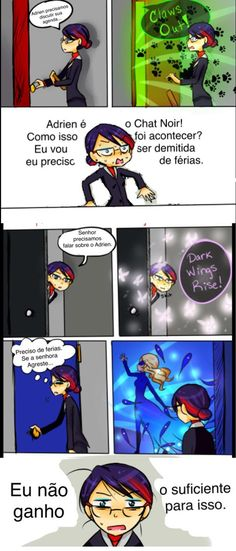 Comic : Miraculous Ladybug -  Coitada.. ;u;